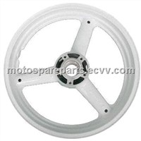 3.5x17 Aftermarket New Alloy Front Wheel Rim for Suzuki GSXR 750 1996 to 1999, White