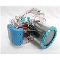 40M/130ft Underwater Waterproof Case Camera Housing Diving For SONY NEX-C3 NEXC3 18-55mm