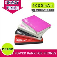 5000mAh New Design Portable Power Station For Iphone, Smart Phone, MP3/MP4 etc