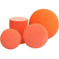 "5"" inch pipe cleaning sponge ball"