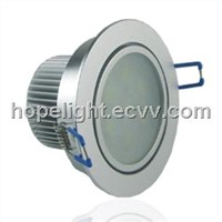 7W Frosted LED Ceiling Light