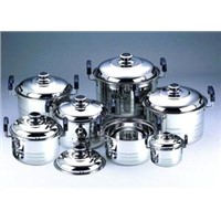 7pcs Stainless steel dutch oven set