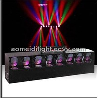 8 head scan  led  stage lighting