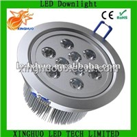 9*3W High Power LED recessed downlight