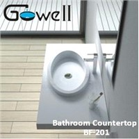 Acrylic Solid Surface Bathroom Countertop
