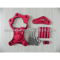 Billet CNC Sprocket Cover for Suzuki GSXR 750/1100 Slingshot/Bandit 1200, Red
