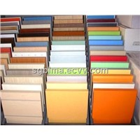 Blue/Yellow Melamine Faced MDF Board