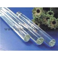 Boro 3.3 clear glass rod