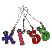 Boutique Multicolor Letter Mobile Phone Chain