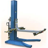 CE Mobile Hydraulic Single Post Lift 1950mm Lifting Height