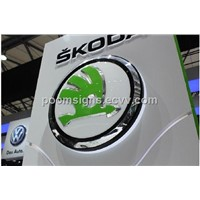 Car Buildings 3D-Effect Auto Logo Manufacturer