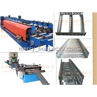 Channel cable tray production line