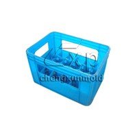Cola Bottle Crate Mould | Plastic Beer Crate Mould | Plastic Circulation Box Mould | Turnover Box