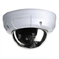Color Vandalproof IR Dome Camera