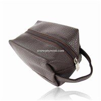 Cosmetic bag, Make up bag, Hand bag, Leather bag