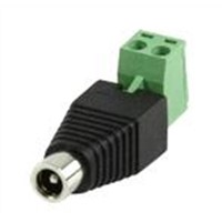 DC power adaptor screw terminal