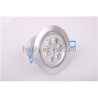 Dimmable 7*1 high power LED downlight  recessed wall lights 2700~6500K 100-240v