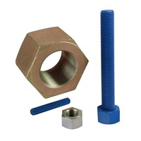 Din975 Thread Rod/Din934 hex nuts