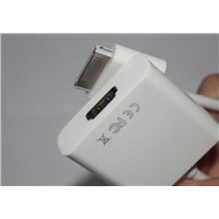 Dock Connector to HDMI Cable Adapter for iPad iPhone 4 4S 4G, iPod Touch