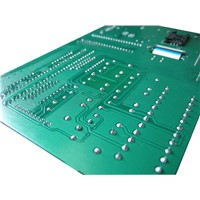 Double-Sided PCB (Hot Air Leveling + Carbon) with Tin Lead, Nickel and Gold Plating