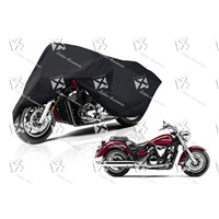 Waterproof UV Protective Durable Polyester Motorcycle Cover