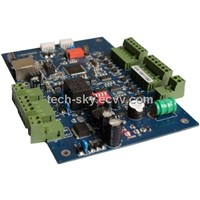 E.link-01 TCP/IP Access Controller Board with Access Database Software