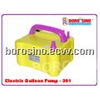 Electric balloon pump inflator machine