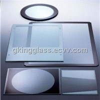 Exposure machine special high temperature glass