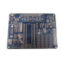 FR4 4-layer PCB with Immersion Finish, Available in Silver