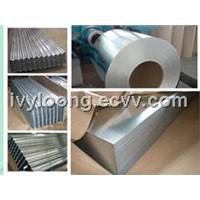 Galvanized steel coil sheet and roofing sheet