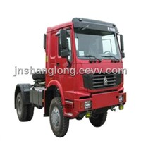 HOWO 4x4 336HP Euro II Emission SINOTRUCK Port Terminal Tractor
