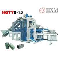 HQTY8-15 Best Seller Automatical hollow block making machine