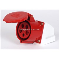 HY-125 Industrial Wall Mounted Socket