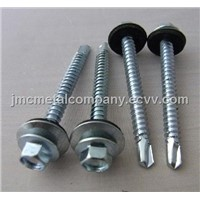 Hex Socket Countersunk Screw / Drilling Screw / Hex Head Self Drilling Screw