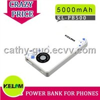 Hot sale! 3000mA/h rechargeable battery power bankup for phone,pad,MP3,MP4 player,camera digital.