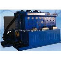 Hydraulic testing table