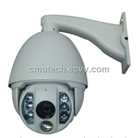 IR high-speed PTZ dome camera