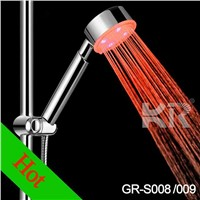 LED Colorful ABS Water Saving Shower Head