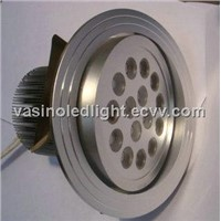 LED downlight, 30 45 60 degree, high power LED ceiling spotlights, 3 years warranty