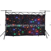 LED star curtain