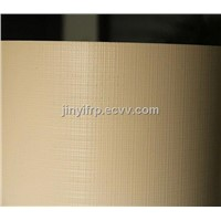 Linen Texture Finish Fiberglass / GRP Panel ,Fiberglass Sheet