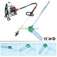 Long Reach Chain Saw with Adjustable Saw Blade