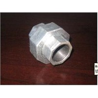 Malleable Iron Plumbing Pipe Hot-Dip Galvanized Union/Flat Seat