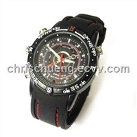 Mini Watch with Water-Resistant Cameras, Supports Photo Resolution of 1, 280 X 960 Pixels (DV-04)