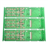 Multi-layered PCB with Immersion Gold Surface Finishing, Suitable for Mobile Phone Main Board