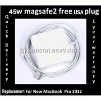 !!!NEWEST Apple 45W MagSafe 2 Power Adapter for MacBook Air MD592B/A