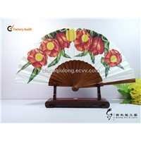 New Colorful Spanish Wood Gift Fan Customized for Gift