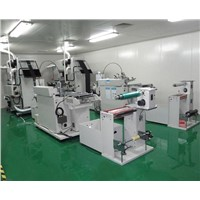 Non Woven fabric screen printing machine