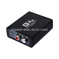 Optical+Coax to Analog Converter