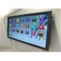 Optical imaging multi touch monitor, 70 inch interactive touch LCD display, HT-LCD70M2